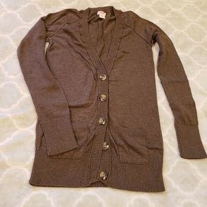 Nearly New Brown Cardigan